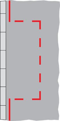 red bay marking